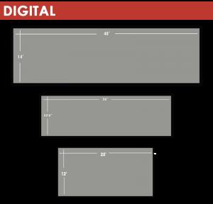 Digital Billboard Sizes