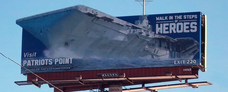 Patriot's Point Billboard