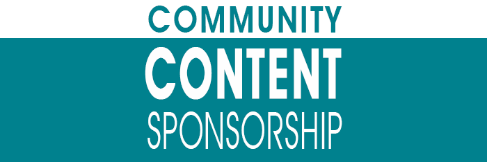 Community Content Sponsorship