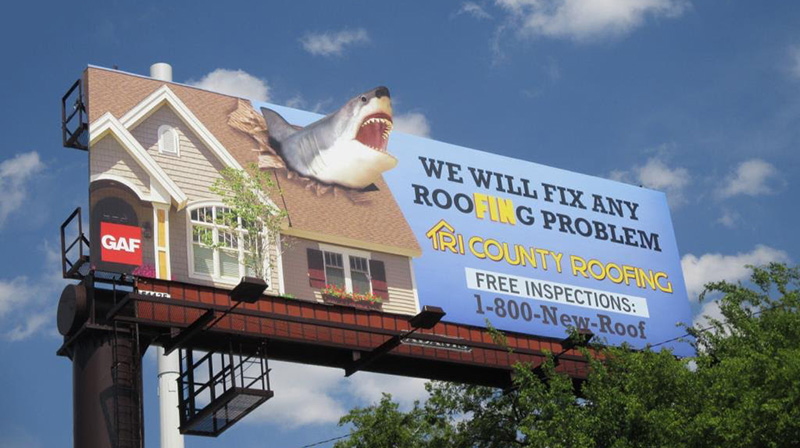 Charleston South Carolina Billboards 187 Shark Week Tri